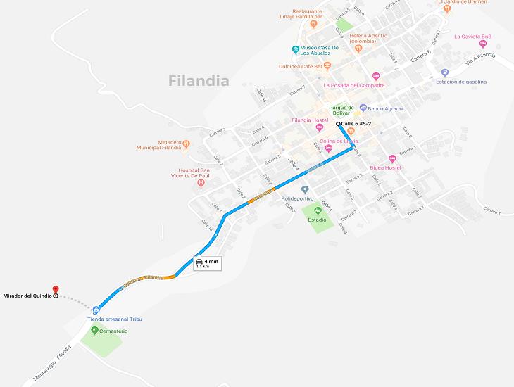 Mapa al Mirador