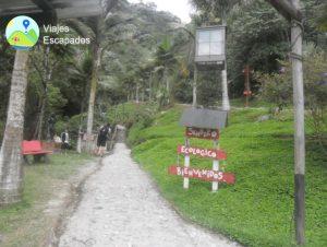 Entrada Termales Santa Rosa de Cabal