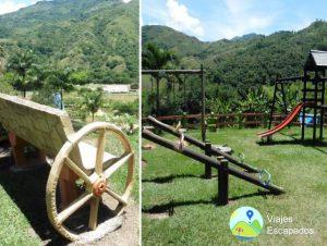 Juegos Infantiles y Vista - Ecoparque Vayju
