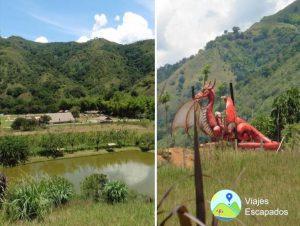 Lago y Dragon - Ecoparque Vayju