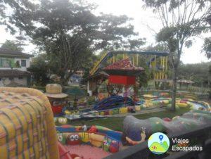 Atracción Río Lento Infantil Parque del Café