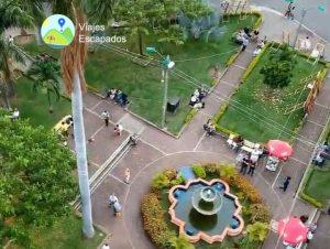 Vista desde alturas Parque del Peñon