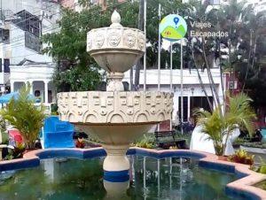 Fuente principal Parque del Peñon