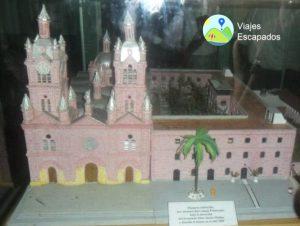 Maqueta de la Basílica del Señor de los Milagros