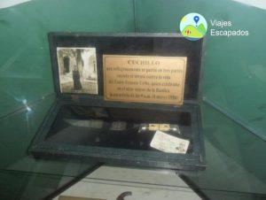 Reliquia de Museo del Señor de los Milagros