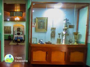 Sala de Exposicion del Museo del Señor de los Milagros