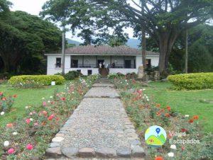 Vista exterior Hacienda el Paraíso - Viajes Escapados